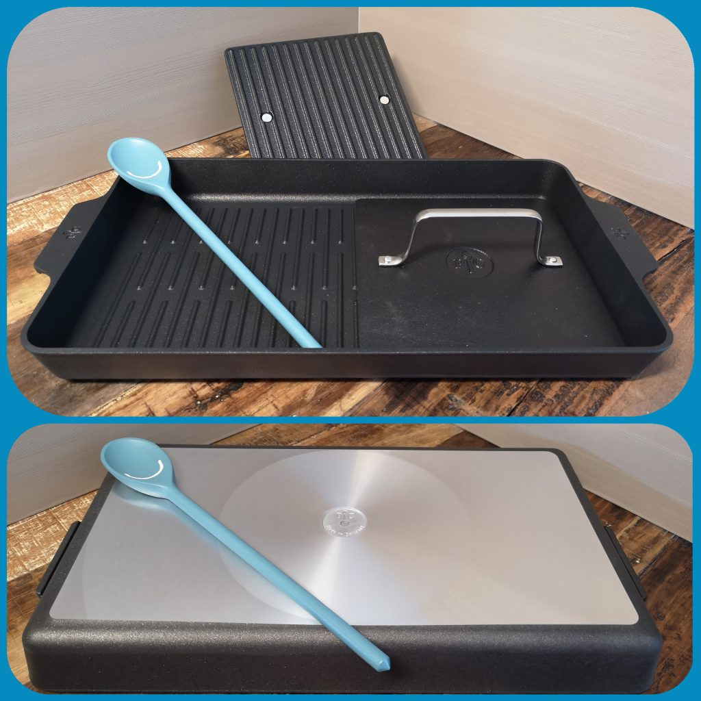 Pampered Chef Antihaft-Grillbräter + Grillfixx Set